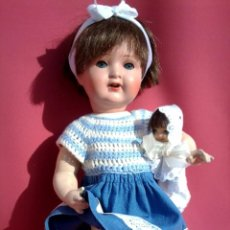 Muñecas Porcelana: MUÑECA DE PORCELANA ALEMANA MARCA KWG. Lote 60781895