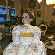 Muñecas Porcelana: MUÑECA DE PORCELANA, SIMÓN Y HALBING, 80 CTMS.. Lote 61096283