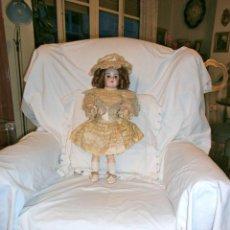 Muñecas Porcelana: MUÑECA DE PORCELANA DE HANDWERCK DE 55CTMS.. Lote 61097399