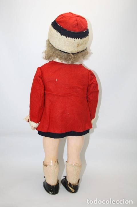 Muñecas Porcelana: MUÑECA ANDADORA. SIMON HALBIG. CUERPO DE MADERA. FUNCIONA. AÑOS 20/30 - Foto 3 - 43329627