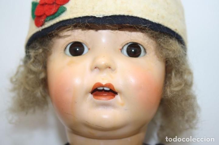 Muñecas Porcelana: MUÑECA ANDADORA. SIMON HALBIG. CUERPO DE MADERA. FUNCIONA. AÑOS 20/30 - Foto 5 - 43329627