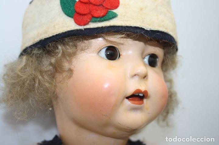 Muñecas Porcelana: MUÑECA ANDADORA. SIMON HALBIG. CUERPO DE MADERA. FUNCIONA. AÑOS 20/30 - Foto 6 - 43329627