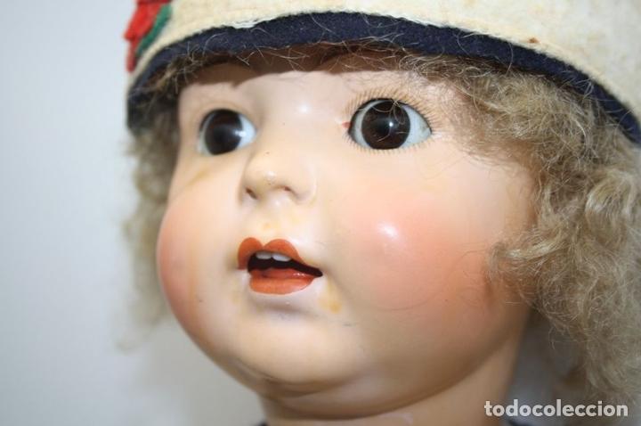 Muñecas Porcelana: MUÑECA ANDADORA. SIMON HALBIG. CUERPO DE MADERA. FUNCIONA. AÑOS 20/30 - Foto 7 - 43329627