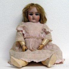 Muñecas Porcelana: MUÑECA DE PORCELANA MARCA HANDWERK. Lote 64301571