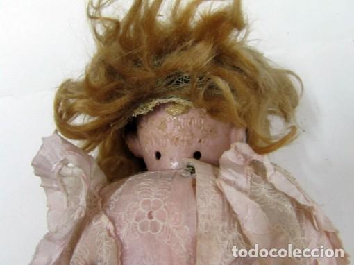 Muñecas Porcelana: Muñeca de porcelana marca Handwerk - Foto 3 - 64301571