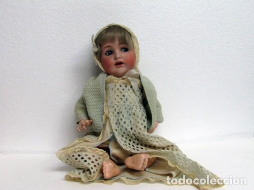 MUÑECA DE PORCELANA MADE IN GERMANY (Juguetes - Muñeca Extranjera Antigua - Porcelana Alemana)