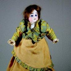 Muñecas Porcelana: MUÑECA DE PORCELANA ALEMANA MARCADA 'F'. Lote 67193905