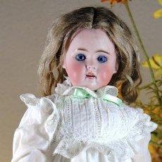 Muñecas Porcelana: MUÑECA DE PORCELANA ALEMANA MARCADA '261 DEP' CUERPO FLAPPER. Lote 67525661