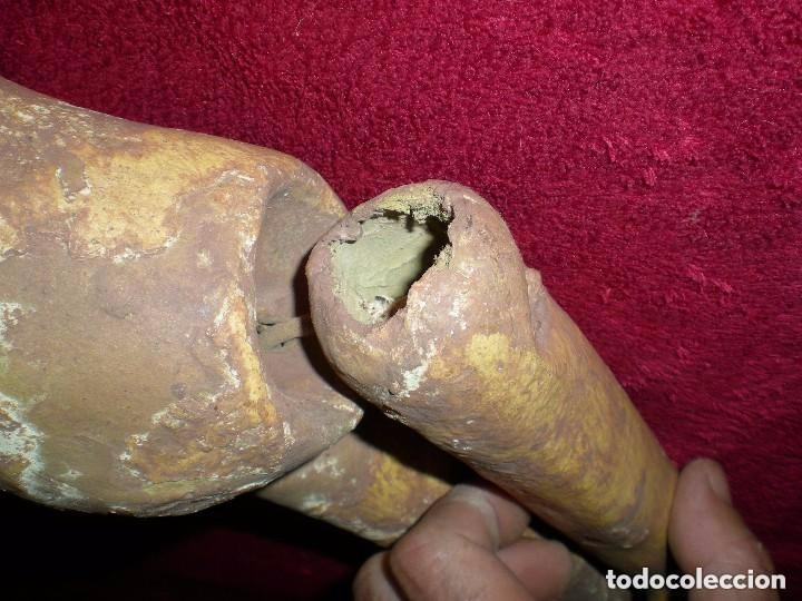 Muñecas Porcelana: cuerpo de muñeca SIMON Y HALBIG 1078 AÑO 1910 O ANTERIOR,PARA RESTAURAR medidas fotos abajo - Foto 8 - 71597895