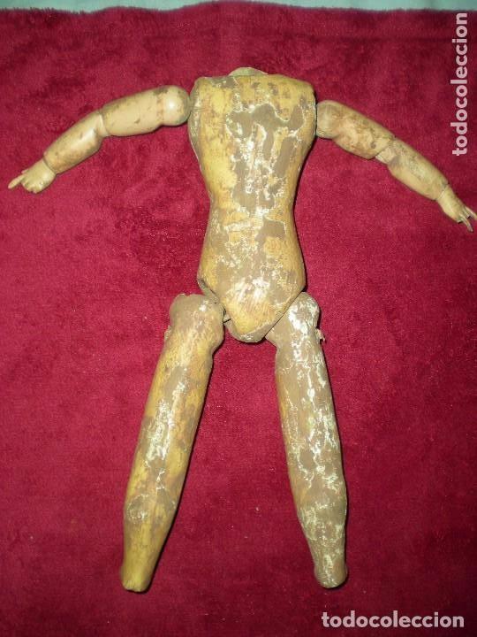 Muñecas Porcelana: cuerpo de muñeca SIMON Y HALBIG 1078 AÑO 1910 O ANTERIOR,PARA RESTAURAR medidas fotos abajo - Foto 10 - 71597895