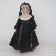 Muñecas Porcelana: MONJITA CABEZA EN BISCUIT, MADE IN GERMANY, KESTNER 136/3 40 CM. APROX.. Lote 71838939