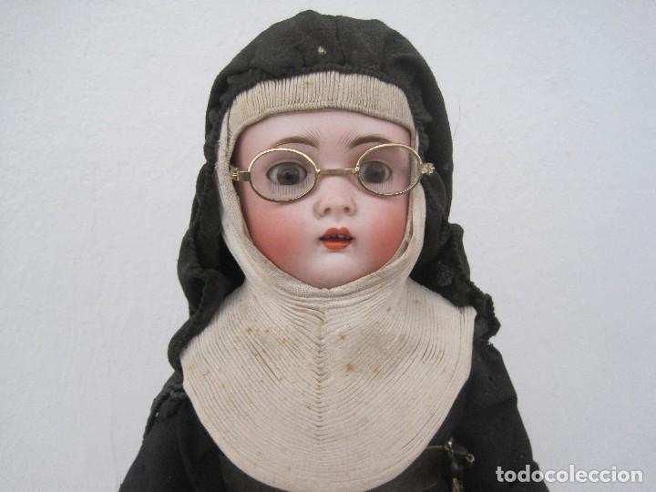 Muñecas Porcelana: MONJITA CABEZA EN BISCUIT, MADE IN GERMANY, KESTNER 136/3 40 CM. APROX. - Foto 2 - 71838939