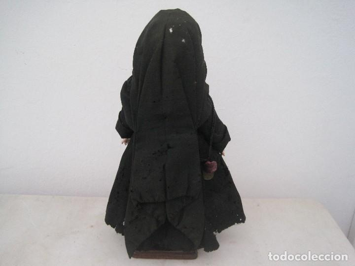 Muñecas Porcelana: MONJITA CABEZA EN BISCUIT, MADE IN GERMANY, KESTNER 136/3 40 CM. APROX. - Foto 4 - 71838939