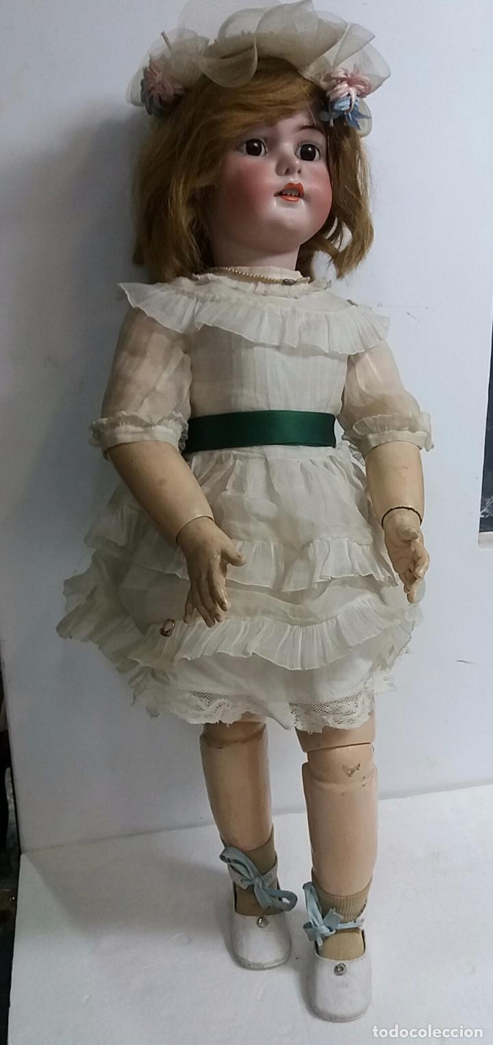 MUÑECA DE PORCELANA SIMON HALBIG (Juguetes - Muñeca Extranjera Antigua - Porcelana Alemana)