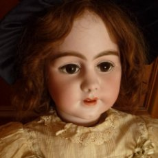 Muñecas Porcelana: MUÑECA ANTIGUA SIMON HALBIG 939, 95 CMS. TODO ORIGINAL. PAGO APLAZADO A CONVENIR.. Lote 72814975