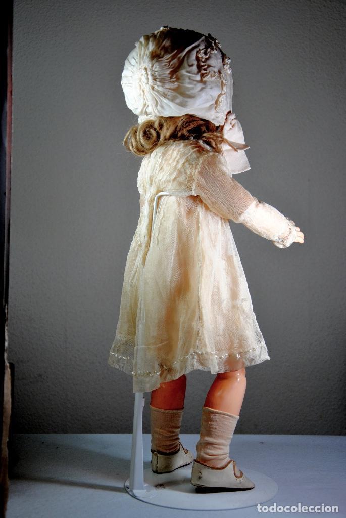 Muñecas Porcelana: MUÑECA PORCELANA S-H (Simon & Halbig) WSK (Wiesenthal. Schindel&Kallenberg) 54 CM. - Foto 3 - 72956187