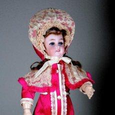 Muñecas Porcelana: MUÑECA DE PORCELANA ALEMANA 'S&H 1039' CON MECANISMO ANDADOR.. Lote 75824223