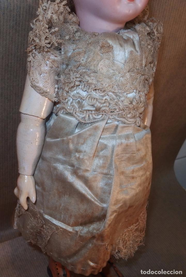 Muñecas Porcelana: PATINADORA AUTÓMATA,PORCELANA,FRIEDICH A.HEUBACH,GERMANY,PRINCIPIO DEL S.XX - Foto 6 - 78048161