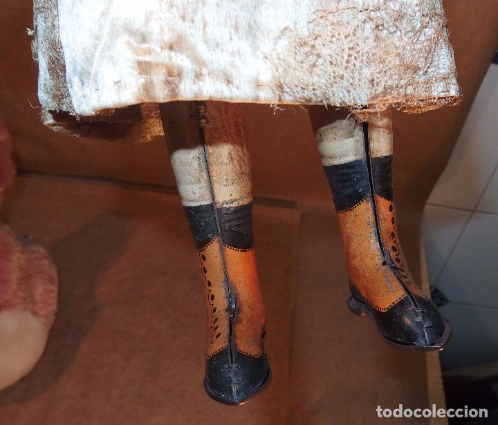 Muñecas Porcelana: PATINADORA AUTÓMATA,PORCELANA,FRIEDICH A.HEUBACH,GERMANY,PRINCIPIO DEL S.XX - Foto 10 - 78048161