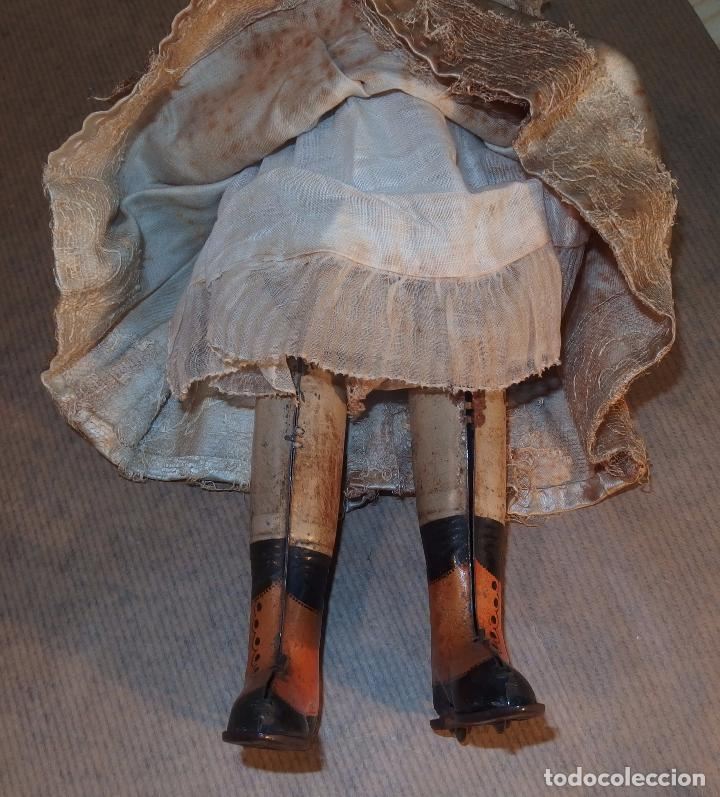 Muñecas Porcelana: PATINADORA AUTÓMATA,PORCELANA,FRIEDICH A.HEUBACH,GERMANY,PRINCIPIO DEL S.XX - Foto 13 - 78048161