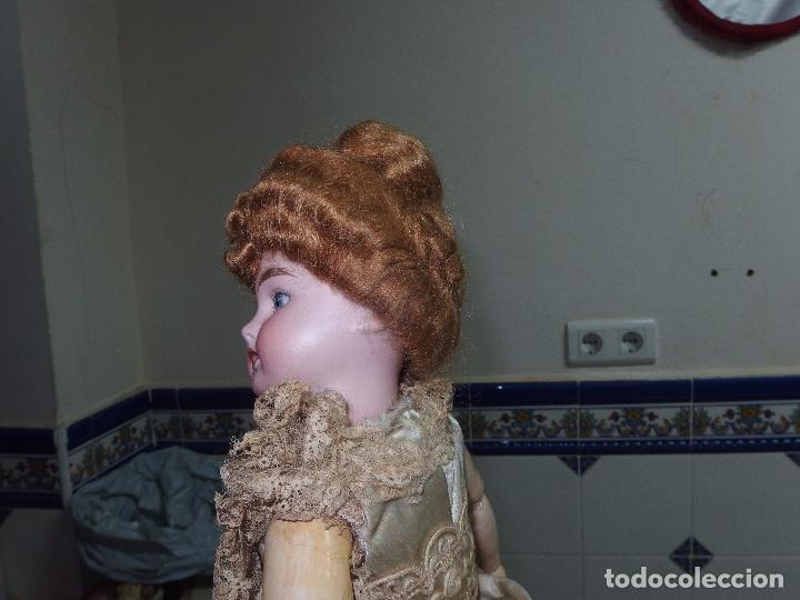 Muñecas Porcelana: PATINADORA AUTÓMATA,PORCELANA,FRIEDICH A.HEUBACH,GERMANY,PRINCIPIO DEL S.XX - Foto 20 - 78048161