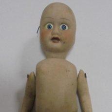 Muñecas Porcelana: ANTIGUA MUÑECA DE CERAMICA ARTICULADA. 17CM. LA DE LAS FOTOS. Lote 80437945