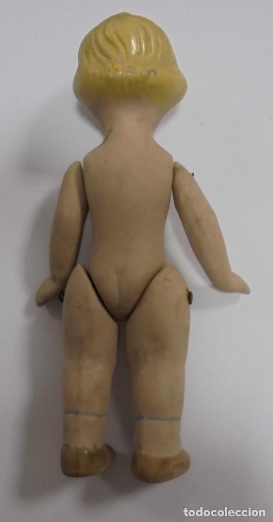 Muñecas Porcelana: ANTIGUA MUÑECA DE CERAMICA ARTICULADA. 16CM. LA DE LAS FOTOS - Foto 2 - 80438069