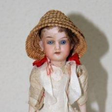 Muñecas Porcelana: MUÑECA ANTIGUA CON CABEZA DE ARMAND MARSEILLE. PORCELANA. ALEMANIA. PRINC. S. XX. Lote 81323692