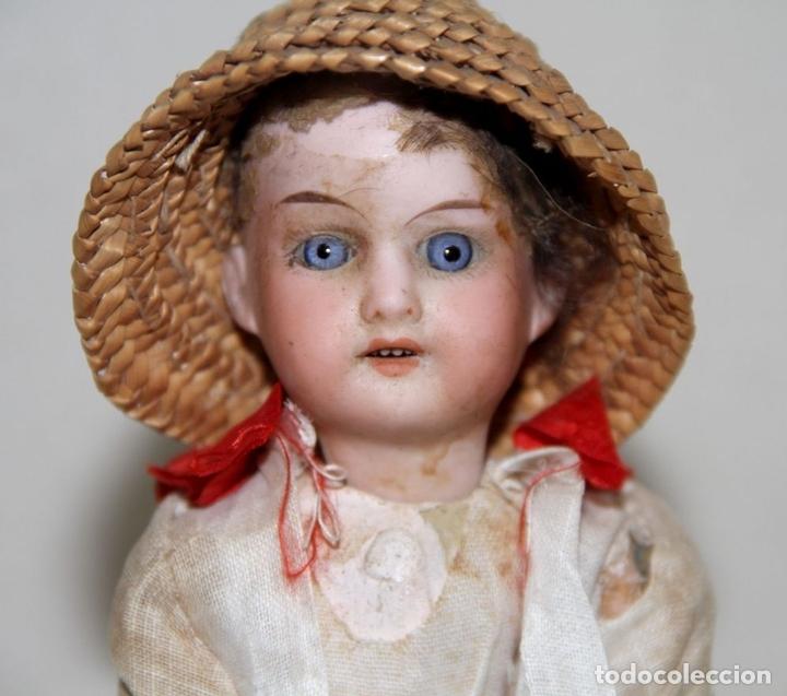 Muñecas Porcelana: MUÑECA ANTIGUA CON CABEZA DE ARMAND MARSEILLE. PORCELANA. ALEMANIA. PRINC. S. XX - Foto 2 - 81323692