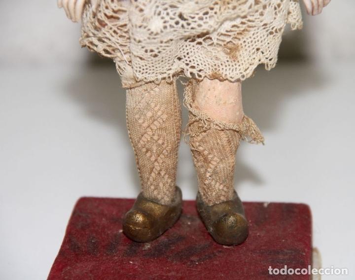 Muñecas Porcelana: MUÑECA ANTIGUA CON CABEZA DE ARMAND MARSEILLE. PORCELANA. ALEMANIA. PRINC. S. XX - Foto 4 - 81323692
