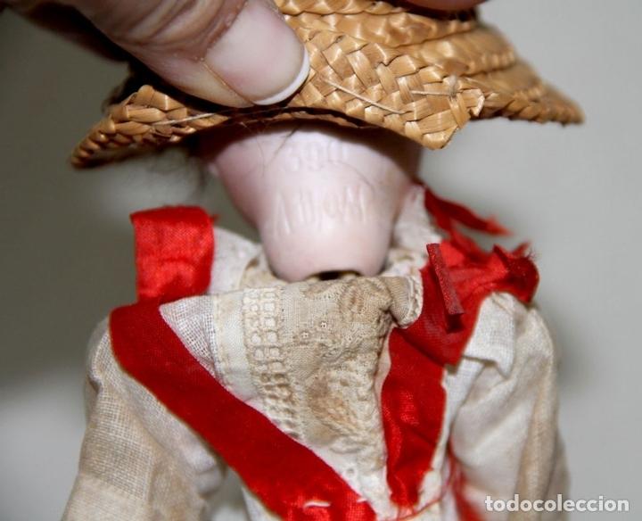Muñecas Porcelana: MUÑECA ANTIGUA CON CABEZA DE ARMAND MARSEILLE. PORCELANA. ALEMANIA. PRINC. S. XX - Foto 6 - 81323692