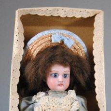 Muñecas Porcelana: MUÑECA DE PORCELANA CUNO&OTTO DRESSEL DE SONNEBERG (ALEMANA) EN SU CAJA TODO ORIGINAL. Lote 82663684