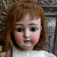 Muñecas Porcelana: ENORME MUÑECA PORCELANA SIMON Y HALBIG TALLA 16 PARA EL MERCADO FRANCÉS ? 80 CM DE ALTURA. Lote 84317060