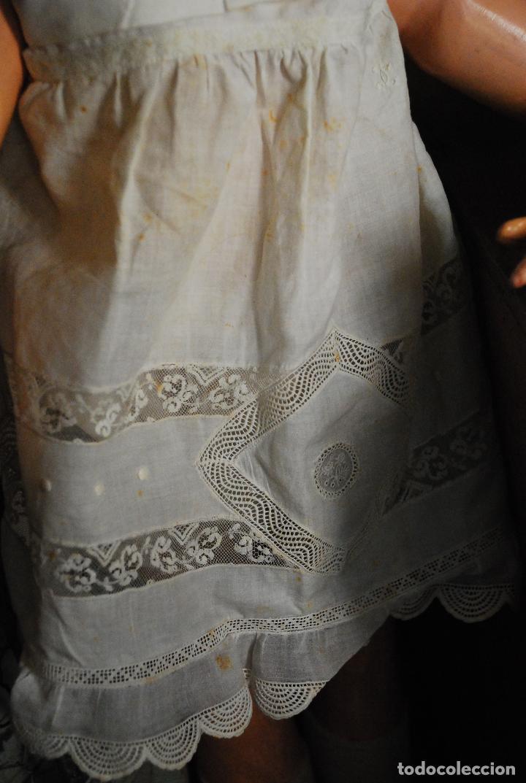 Muñecas Porcelana: PRECIOSA MUÑECA MUY ANTIGUA DE PORCELANA Y CARTÓN PIEDRA - Foto 9 - 85980292