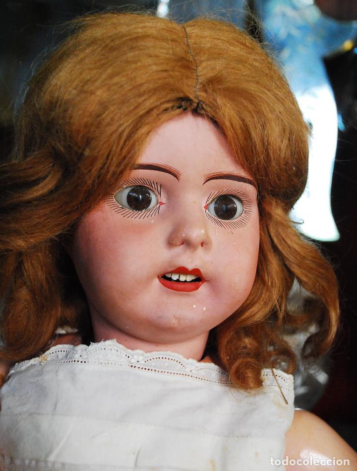 Muñecas Porcelana: PRECIOSA MUÑECA MUY ANTIGUA DE PORCELANA Y CARTÓN PIEDRA - Foto 10 - 85980292