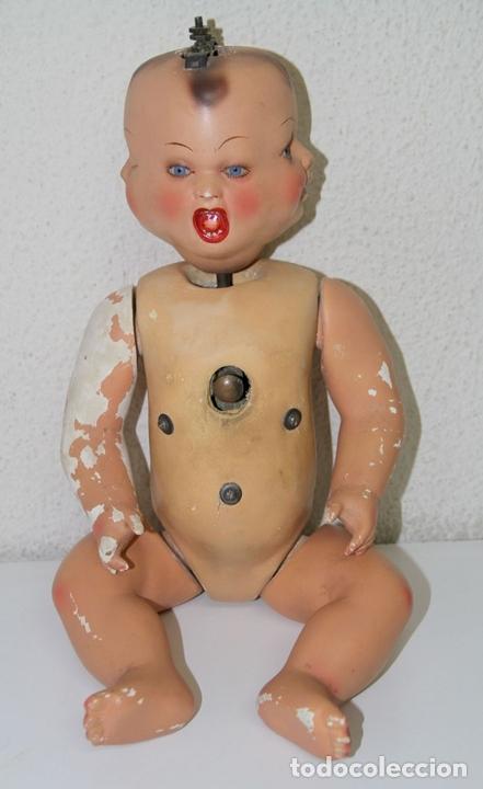 Muñecas Porcelana: BEBÉ CON 4 CARAS. PORCELANA Y COMPOSICIÓN. FUNCIONA. POSIBLEMENTE ALEMÁN. PRINC. S. XX - Foto 6 - 86354728