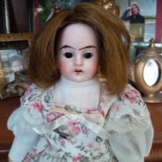 Muñecas Porcelana: ANTIGUA MUÑECA ALEMANA, 26 CMTRS. CABEZA PORCELANA.. Lote 87013972