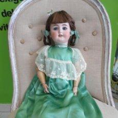 Muñecas Porcelana: MUÑECA ANTIGUA ALEMANA DE PORCELANA. Lote 87442764