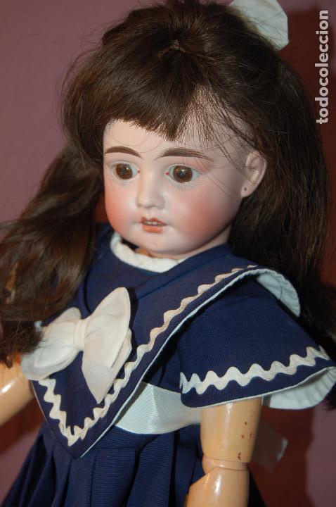 POSIBLE MUÑECA LEHMANS (Juguetes - Muñeca Extranjera Antigua - Porcelana Alemana)