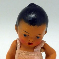 Muñecas Porcelana: MUÑECO ORIENTAL PORCELANA PINTADA AÑOS 40 7,5 CM ALTO. Lote 89744116