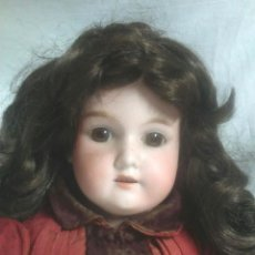 Muñecas Porcelana: MUÑECA POUPEE BISCUIT AÑOS 20 ARMAND MARSEILLE FLORADORA ALEMANIA. MED. 54 CM. Lote 91987555