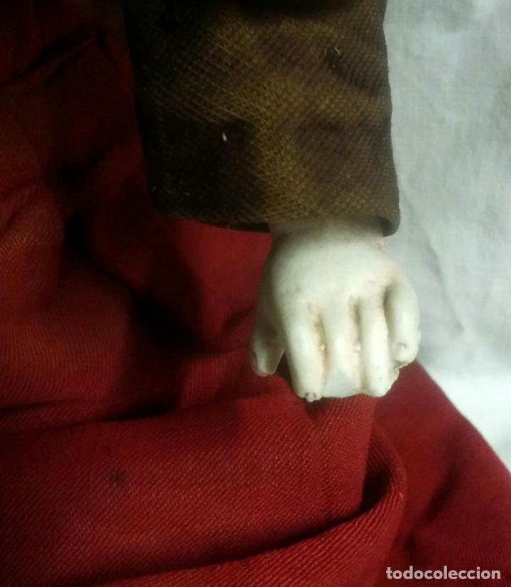 Muñecas Porcelana: Muñeca Poupee Biscuit años 20 Armand Marseille Floradora Alemania. Med. 54 cm - Foto 5 - 91987555