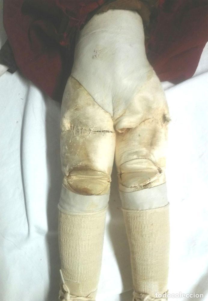 Muñecas Porcelana: Muñeca Poupee Biscuit años 20 Armand Marseille Floradora Alemania. Med. 54 cm - Foto 7 - 91987555