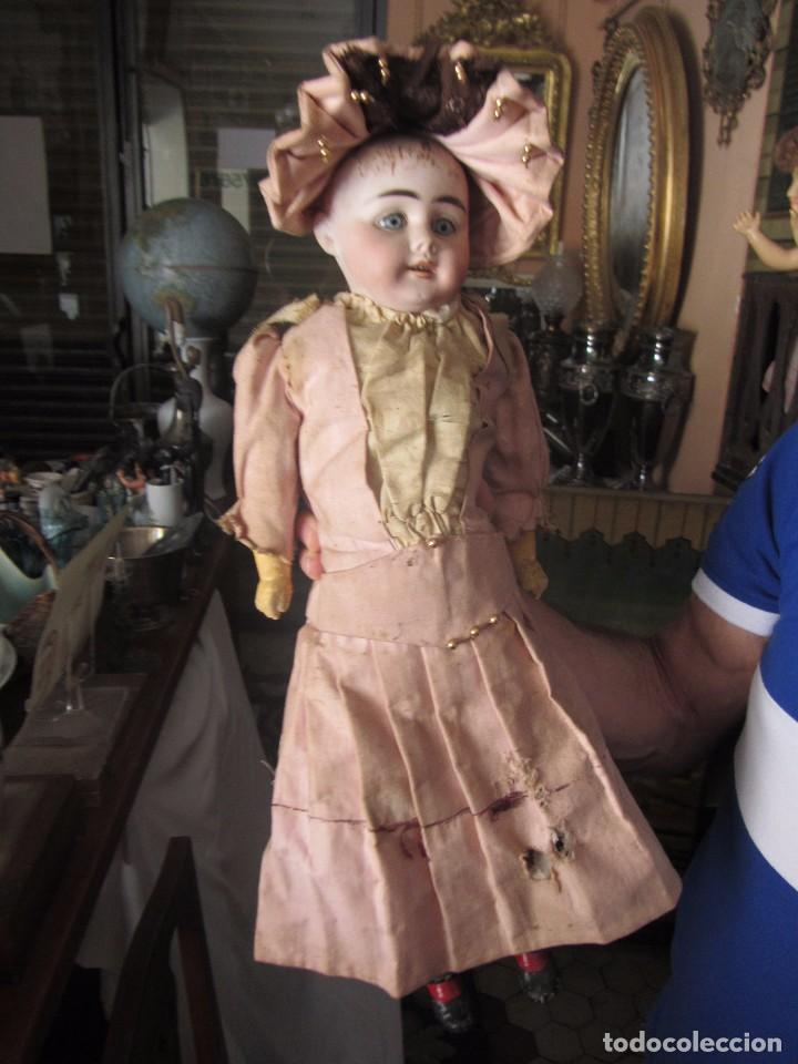 Muñecas Porcelana: Antigua Muñeca Alemana de Porcelana - Leer Descripción - - Foto 2 - 92394250