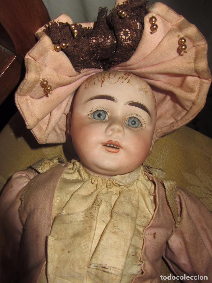 Muñecas Porcelana: Antigua Muñeca Alemana de Porcelana - Leer Descripción - - Foto 3 - 92394250