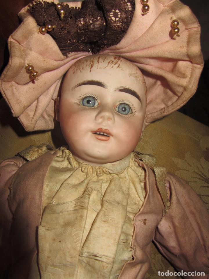 Muñecas Porcelana: Antigua Muñeca Alemana de Porcelana - Leer Descripción - - Foto 4 - 92394250