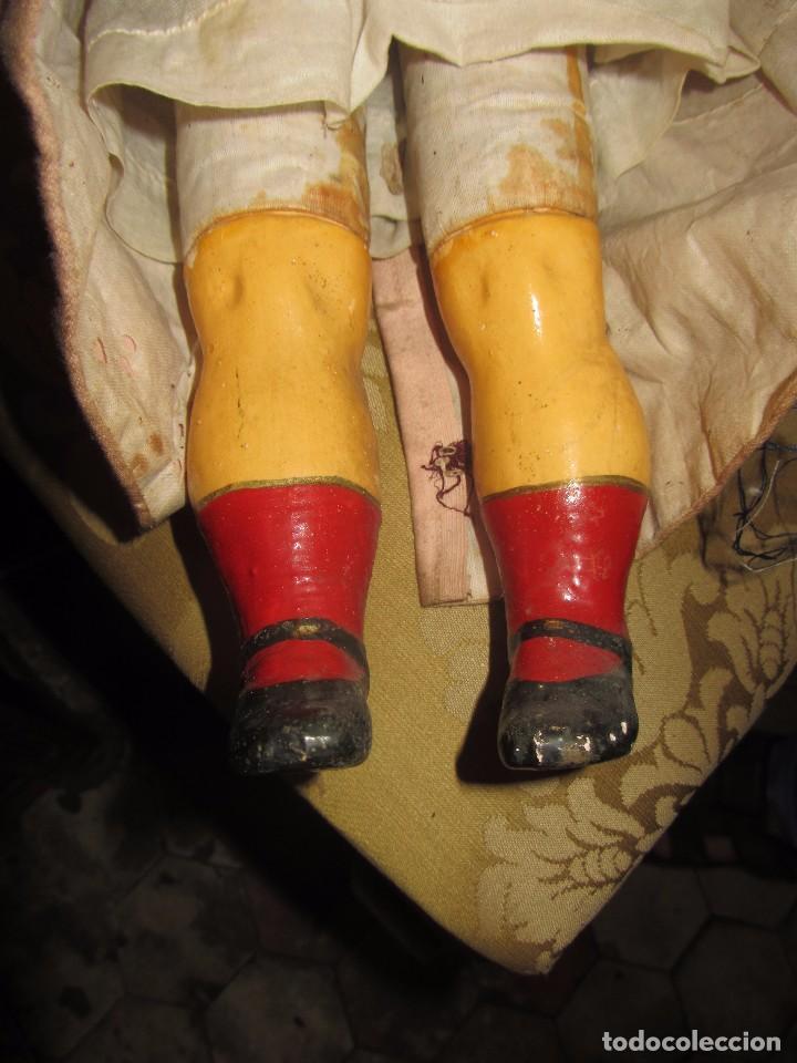 Muñecas Porcelana: Antigua Muñeca Alemana de Porcelana - Leer Descripción - - Foto 5 - 92394250