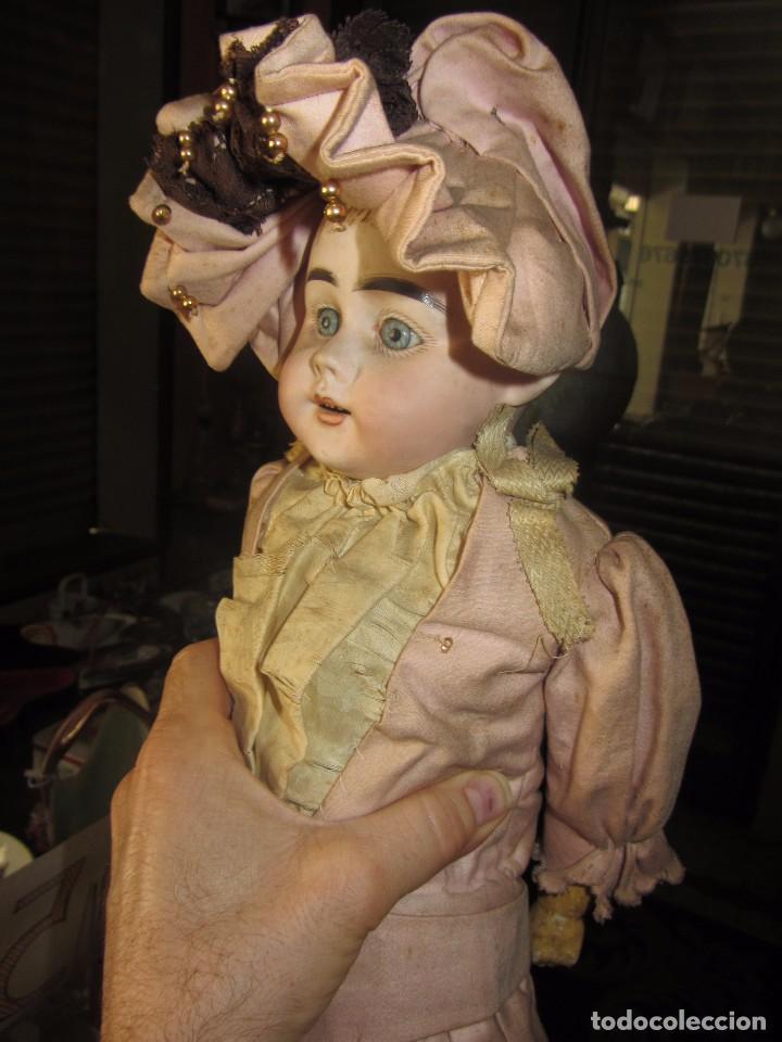 Muñecas Porcelana: Antigua Muñeca Alemana de Porcelana - Leer Descripción - - Foto 6 - 92394250