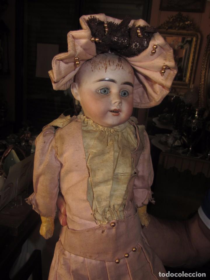 Muñecas Porcelana: Antigua Muñeca Alemana de Porcelana - Leer Descripción - - Foto 7 - 92394250