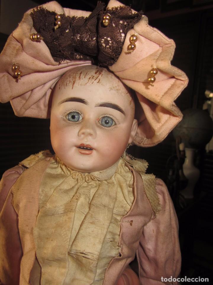 Muñecas Porcelana: Antigua Muñeca Alemana de Porcelana - Leer Descripción - - Foto 8 - 92394250